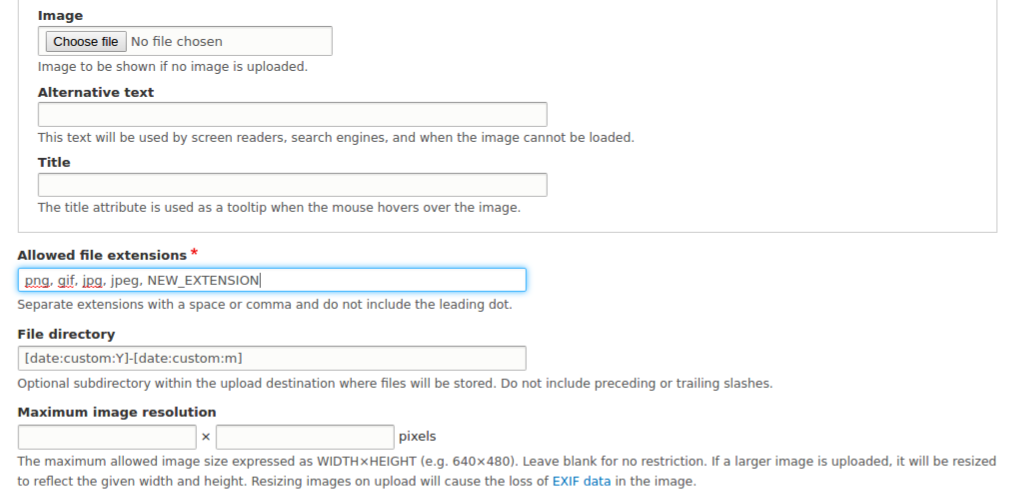 Rap Sheet Template Configuration Drupal 8 Media Guide